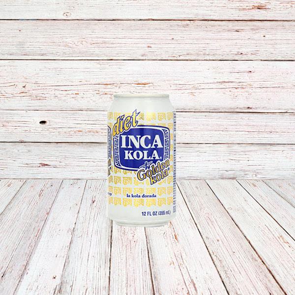 DIET INCA KOLA (Lata) / SODA IN CANS 24x12 oz.