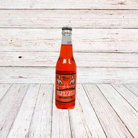 MANZANA (Vidrio) / APPLE SODA IN BOTTLE 24x12 oz.