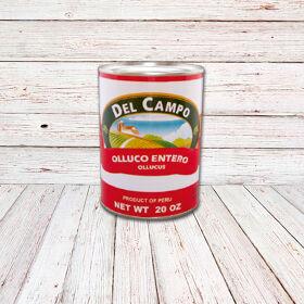 DEL CAMPO Olluco (Lata) / ULLUCO IN BRINE CANS 12x20 oz.
