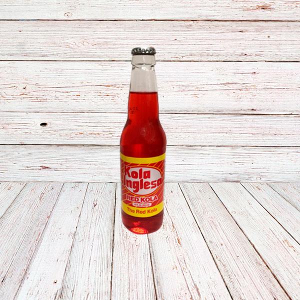 KOLA INGLESA (Vidrio) / STRAWBERRY SODA IN BOTTLE 24x12 oz.