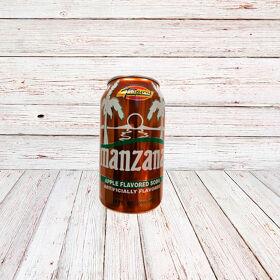 MANZANA (Lata) / APPLE SODA IN CANS 24x12 oz.