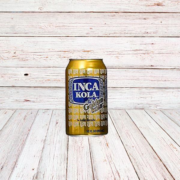 INCA KOLA (Lata) / SODA IN CANS 24x12 oz.
