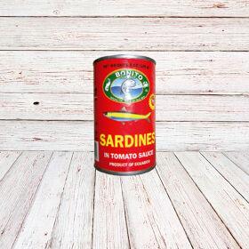 BONITO FISH Tinapa en Tomate /TINAPA SARDINE SAUCE. 50x5.5 o