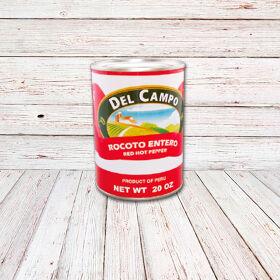 DEL CAMPO Aji Rocoto (Lata) / RED HOT PEPPER CANS 12x20 oz.