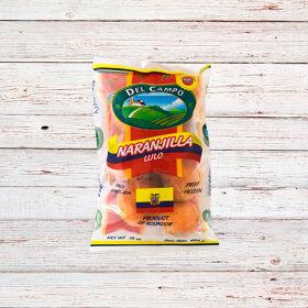 DEL CAMPO Naranjilla (lulo) fruta / WHOLE LULO 16x16 oz.