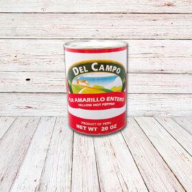 DEL CAMPO Aji Amarillo (Lata) / YELLOW HOT PEPPER CANS 12x20
