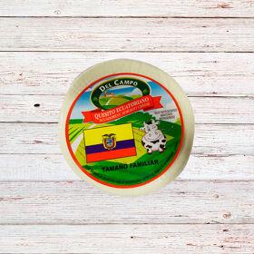 DEL CAMPO Queso Ecuatoriano Familiar 4 x 3lbs /48 oz.