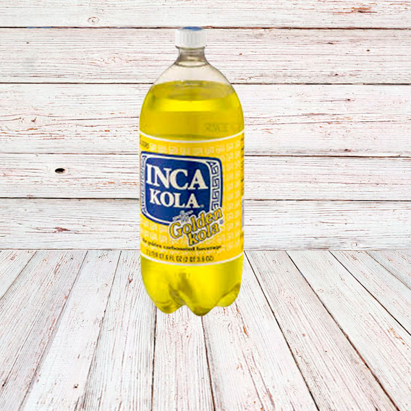 INCA KOLA / SODA IN BOTTLE 8x2 lt.