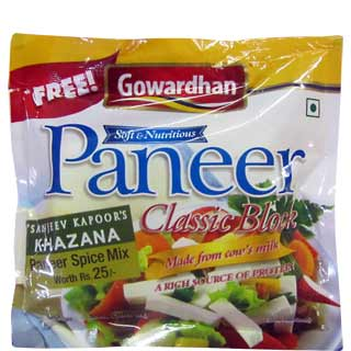 Gowardhan Fresh Paneer 200 g