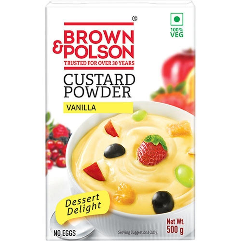 Brown  & Polson Vanilla Custard Powder  500g