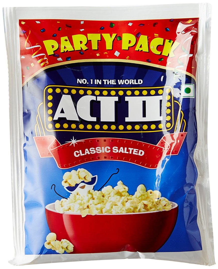 Act II Instant Classic Salted Popcorn  35g