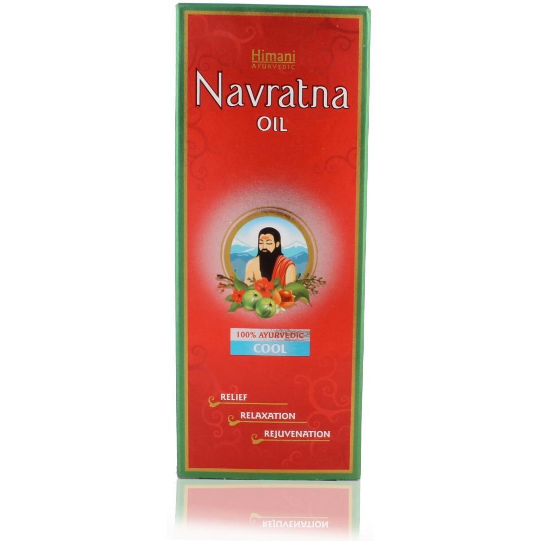 Himani Navratna Oil - 100ml Bottle
