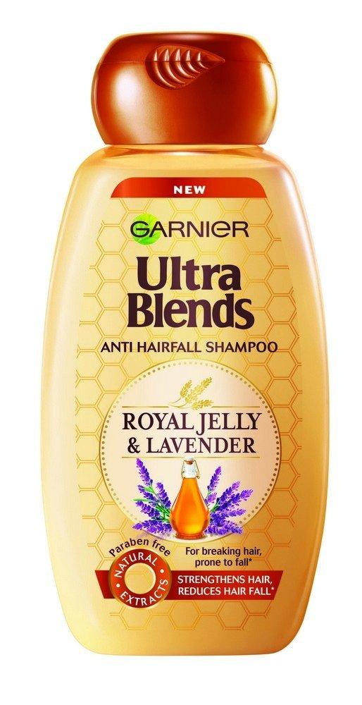 Garnier Ultra Blends Royal Jelly and Lavender Shampoo  340ml