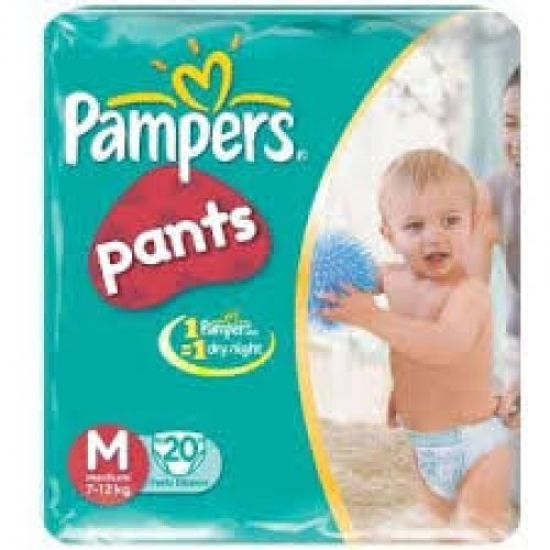 PAMPERS PANTS SMALL 20PCS