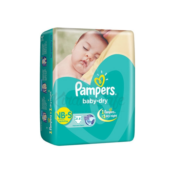 PAMPERS IMAX SMALL 11PCS