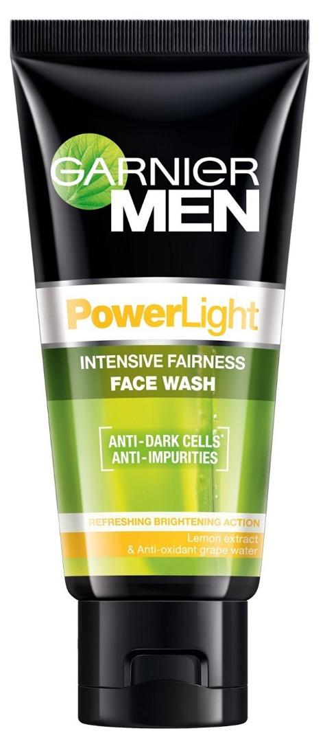 Garnier Men Power Light/White Face Wash  50gm