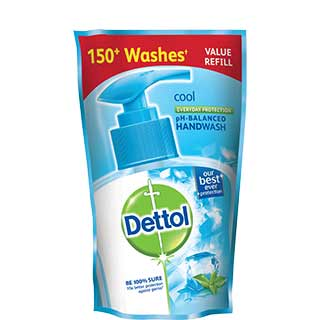 Dettol Cool Handwash Refill Pack 185 ml