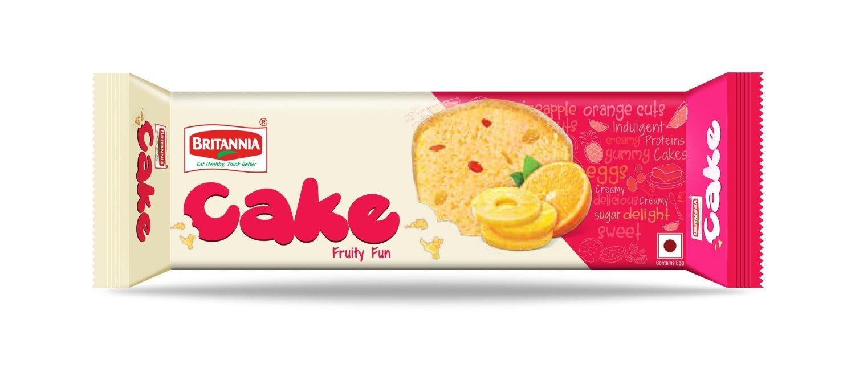 BRITANNIA CAKE FRUIT 150GM