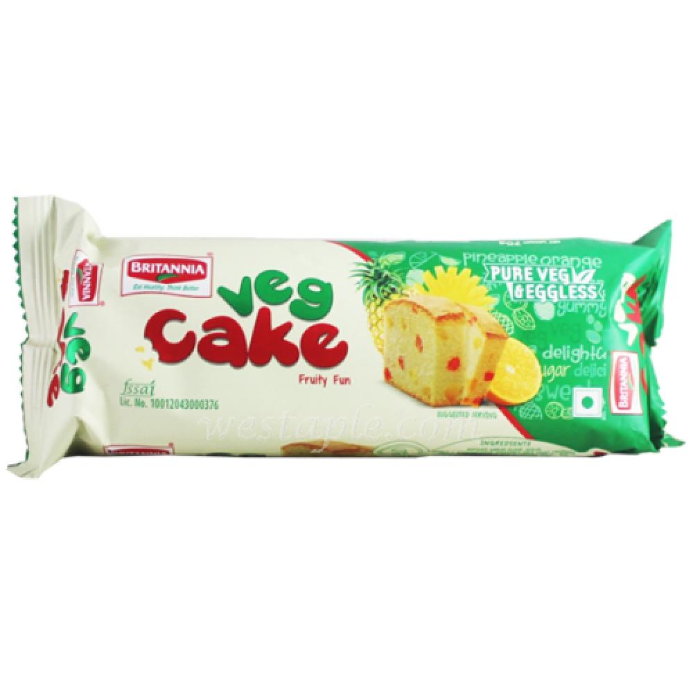 Britannia Veg Cakes Twisty Fruity 75gms