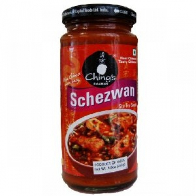 CHINGS SCHEZWAN SAUCE 250GM