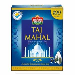 TAJ MAHAL TEA BAGS 100NOS