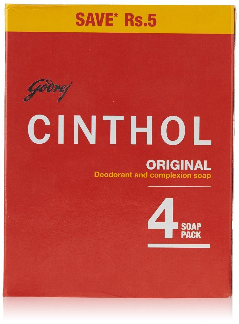 CINTHOL SOAP ORIGINAL 4*100GM