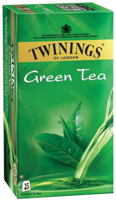 TWININGS GREEN TEA 25BAG
