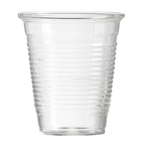 GLASS PLASTIC 250ML JADA 50Pieces