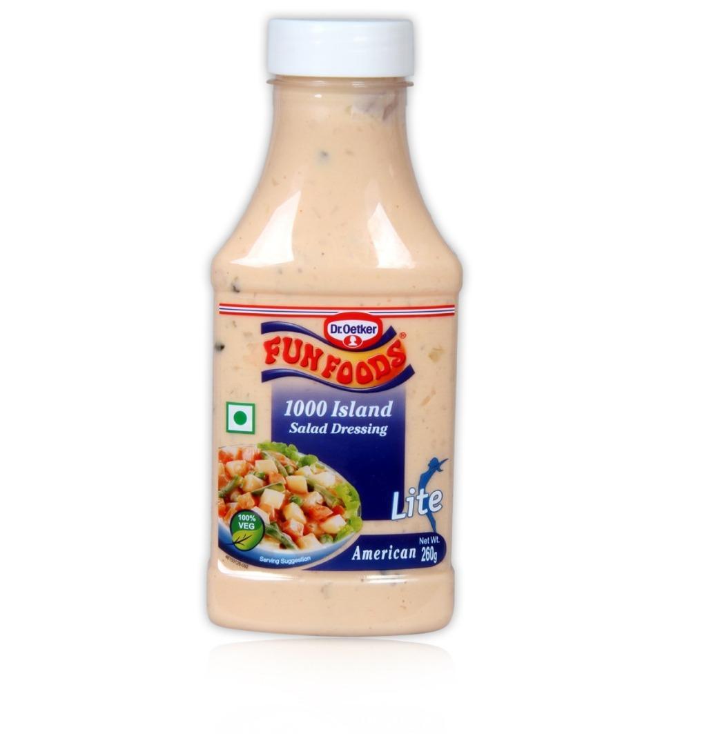 FUN FOOD 1000 I.SALAD AMERICAN 260G
