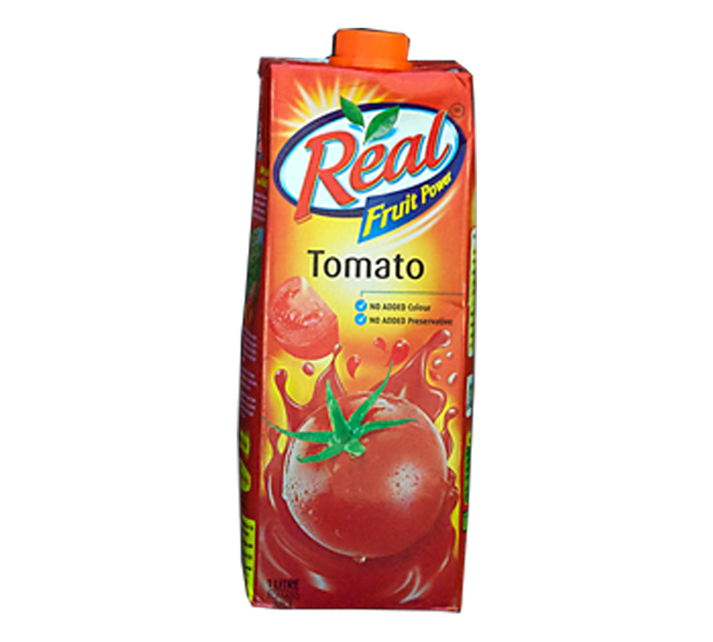 REAL TOMATO JUICE 1LTR