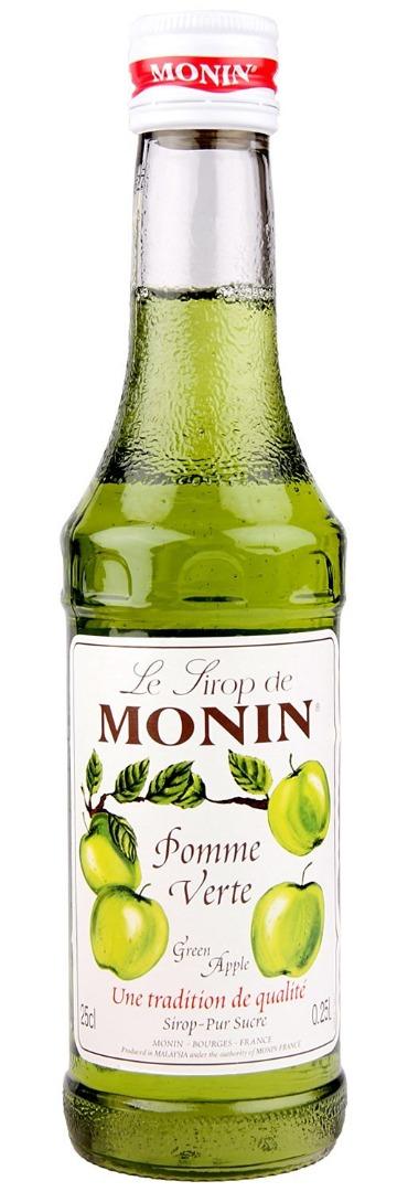 Monin Syrup - Green Apple   250ml Bottle