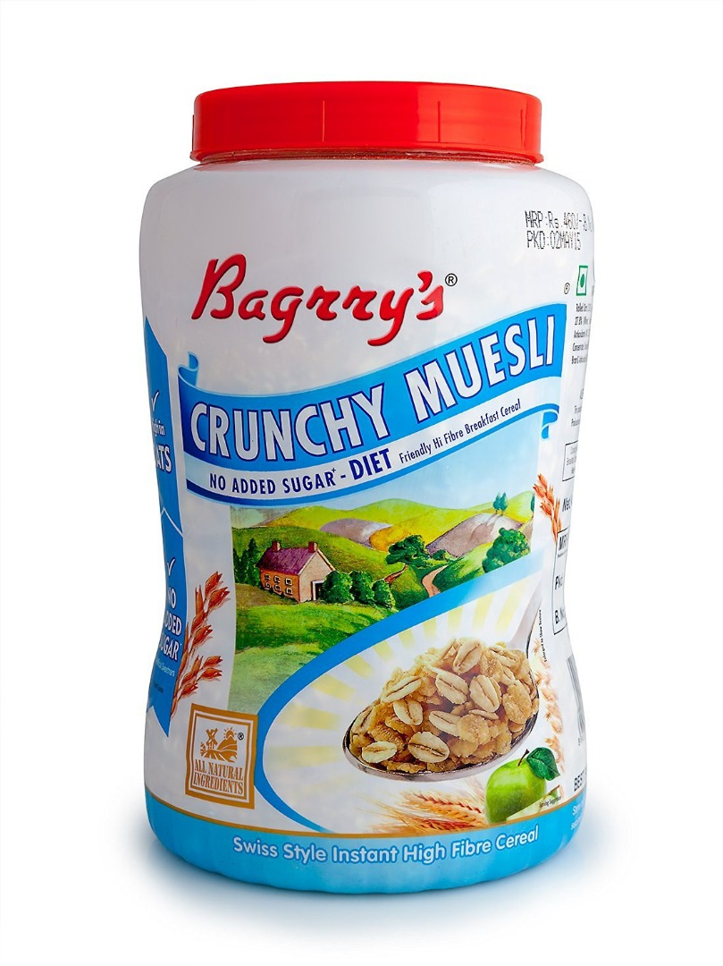 BAGRRYS CRUNCHY MUSELI 1K JAR