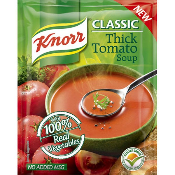 KNORR THICK TOMATO SOUP 55GM