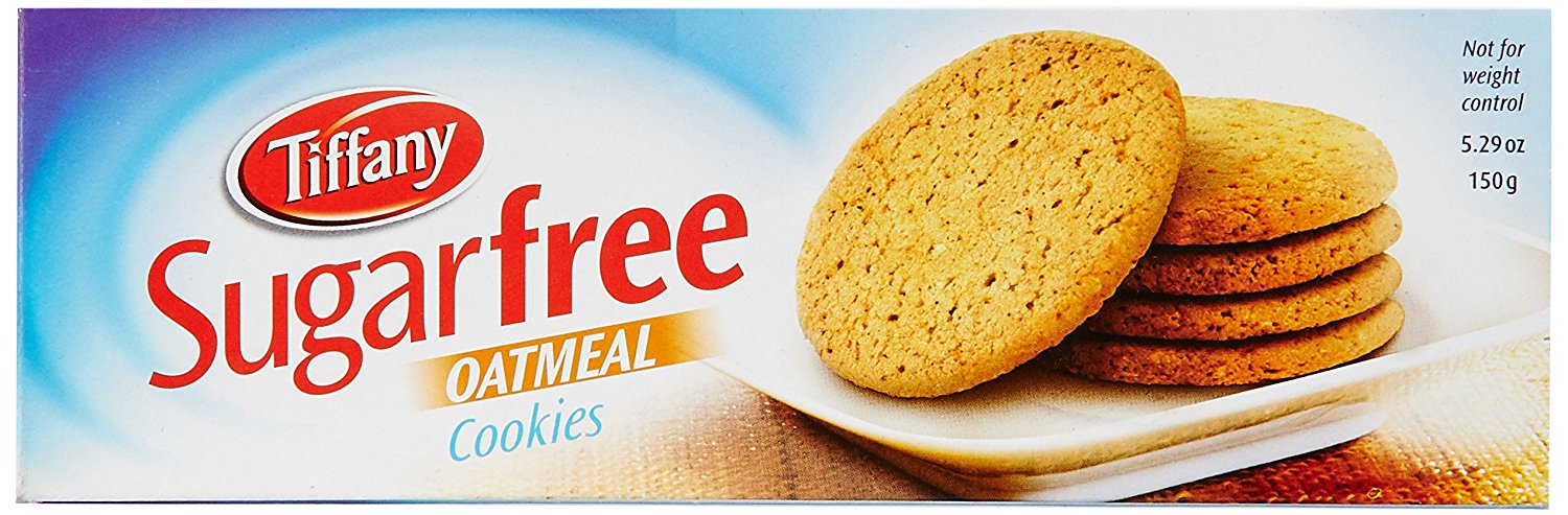 Tiffany Biscuit Sugar free Oat Meal  150g