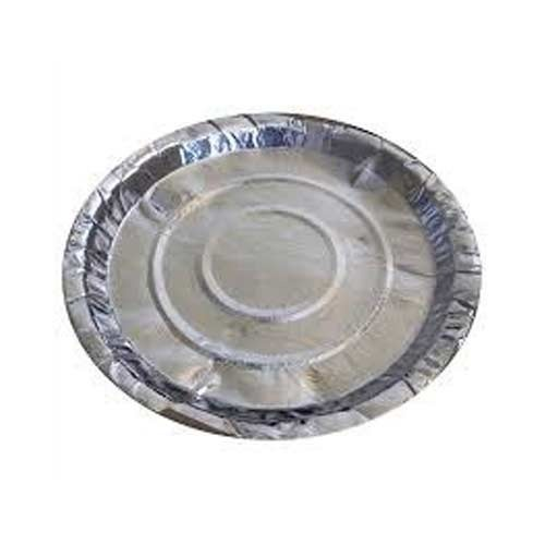 Disposable silver paper plate 7 no.-40Pcs