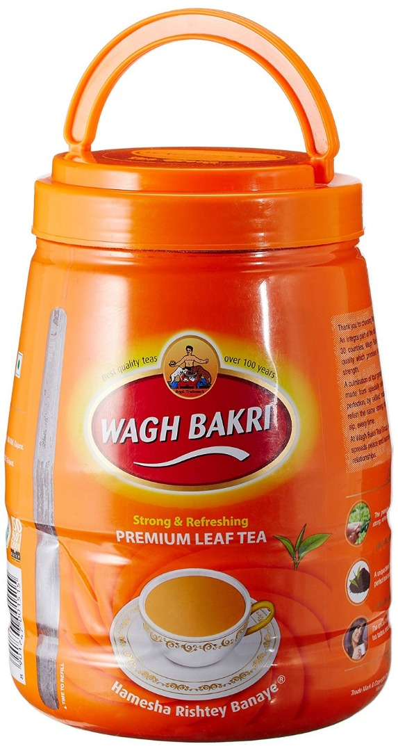 Wagh Bakri Premium Leaf Tea Jar 1kg