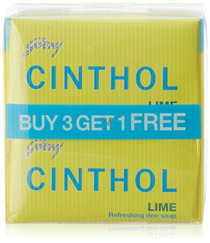 Cinthol Lime Soap 75gm x 4