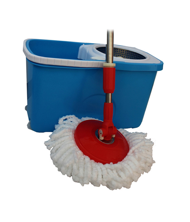 Platina Series Easy Spin Cleaning Mop With One Refill Brush