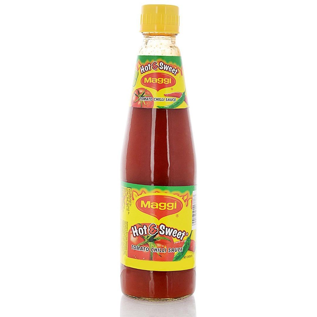 Maggi Hot and Sweet Tomato Chilli Sauce   500g