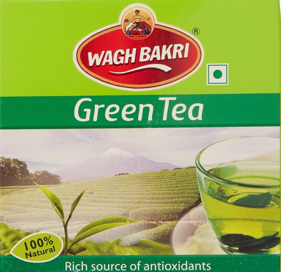 WAGH BAKRI  GREEN TEA 100