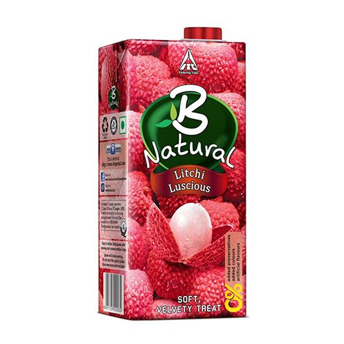 B Natural Juice  Litchi Luscious  1 Ltr