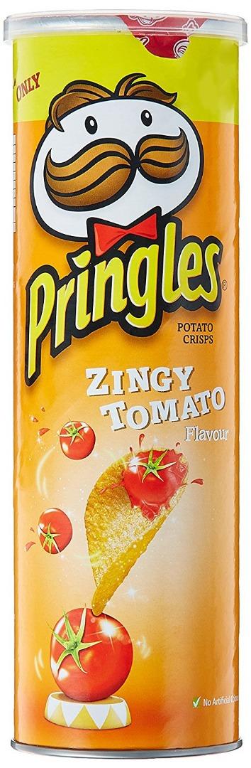 Pringles Chips  Zingy Tomato  110g