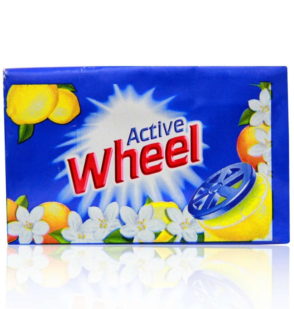 Wheel Blue Soap 155*6pcs