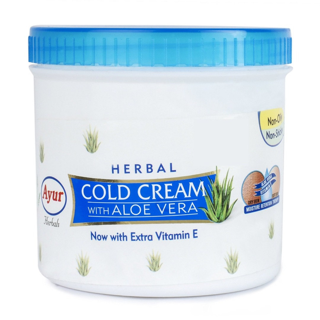 Ayur Herbal Cold Cream with Aloevera  500ml