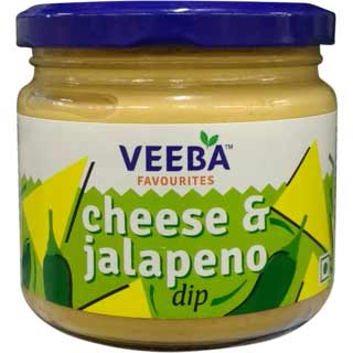 Veeba Cheese  & Jalapeno Dip 300 g