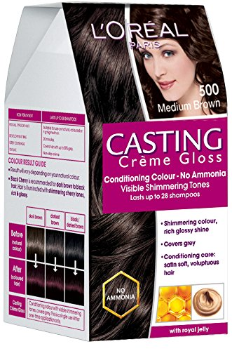 LOREAL CASTING 500 MED.BROWN