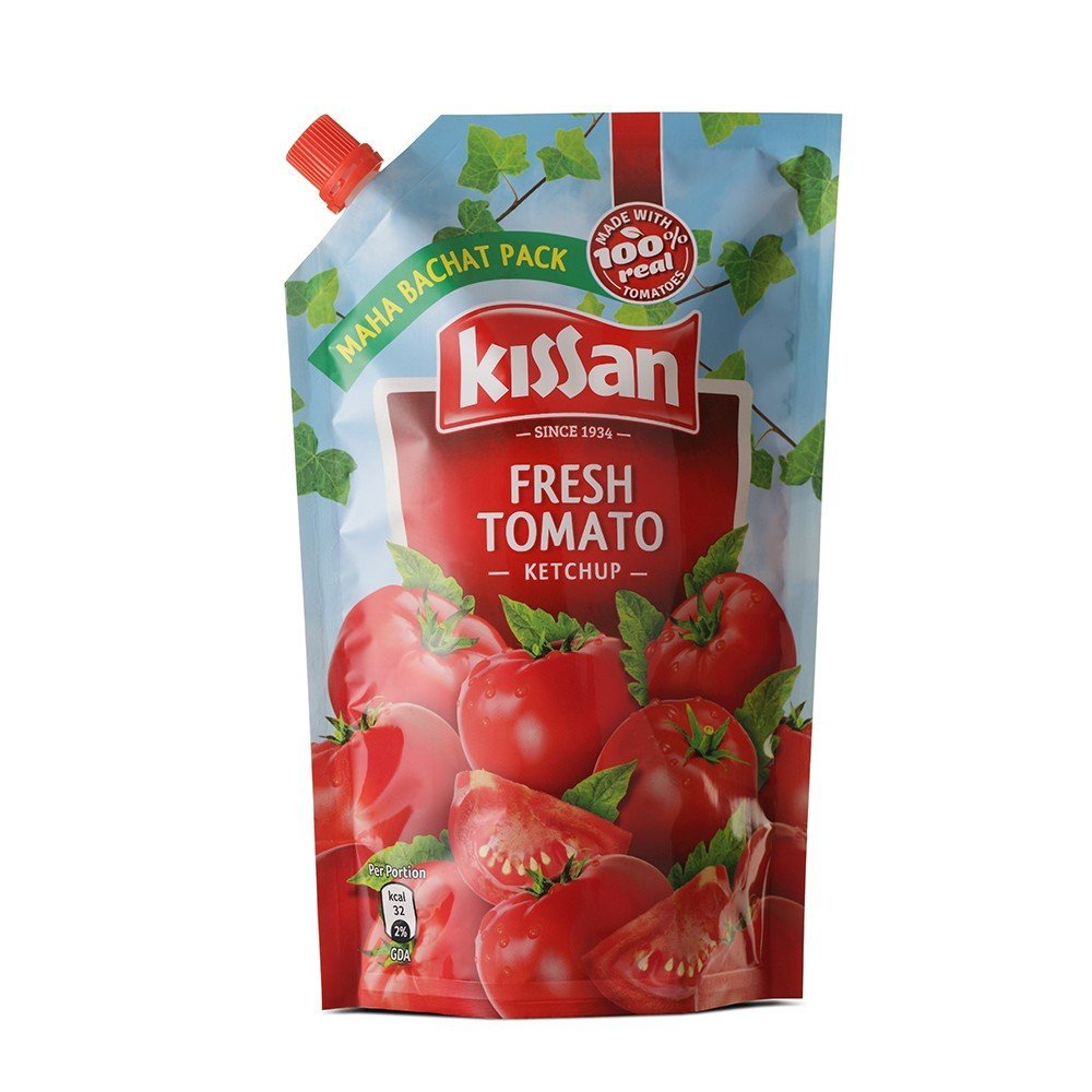 Kissan Fresh Tomato Ketchup Refil Pack  1kg