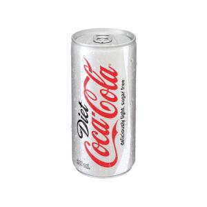 COKE DIET POP CAN 200ML