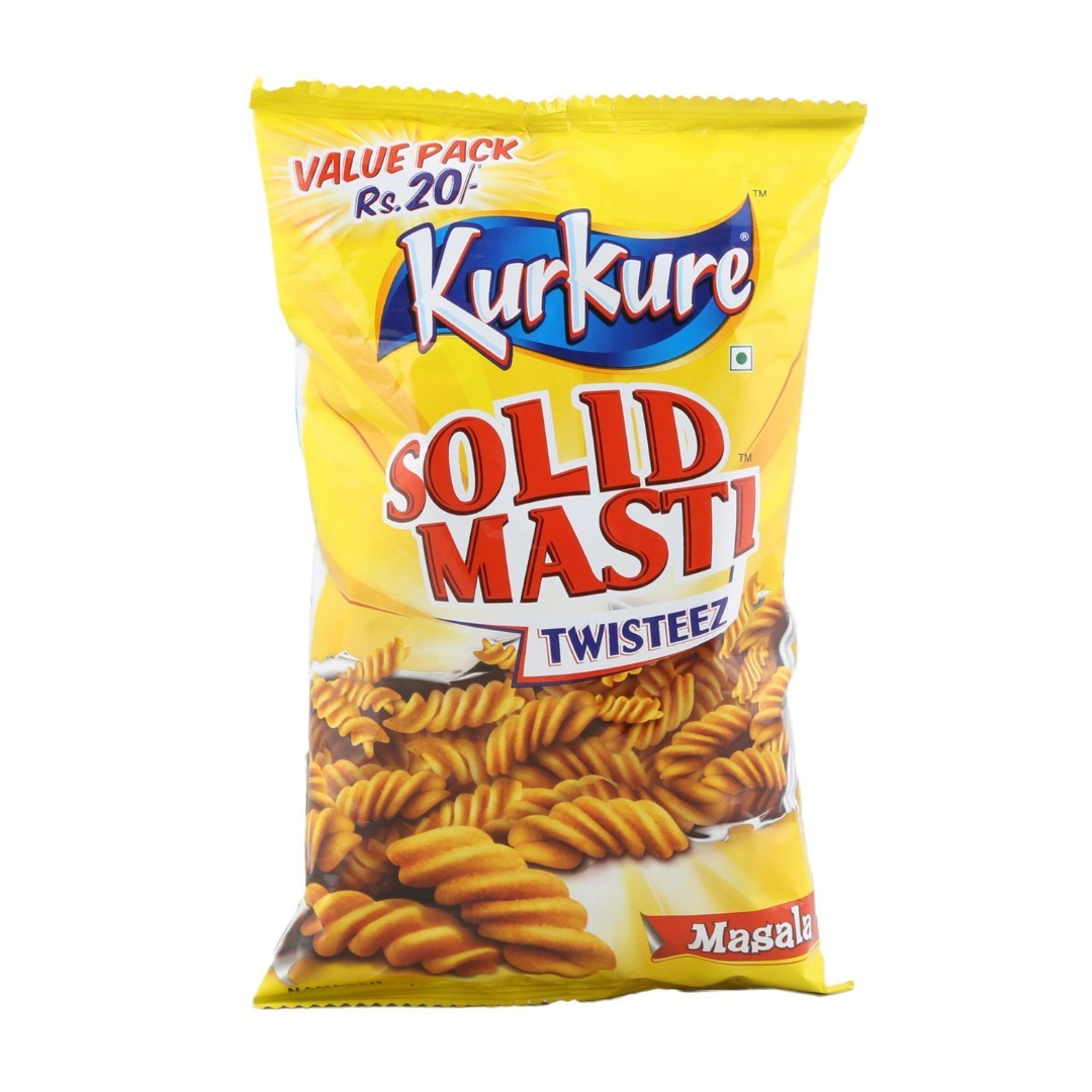 Kurkure Snacks - Solid Masti Twisteez  90g Pouch