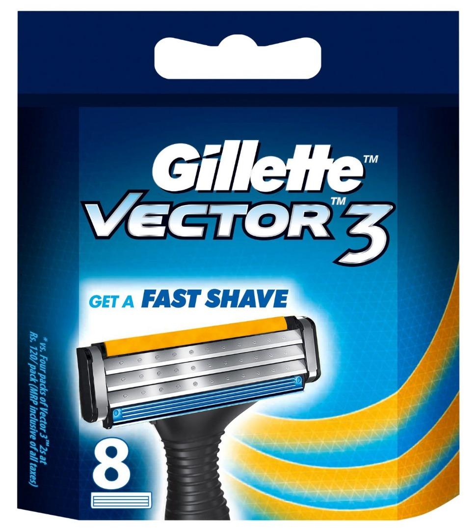 GILLETTE VECTOR 3 BLADE[8]